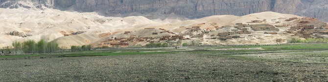 Village in Chaman, April 2011