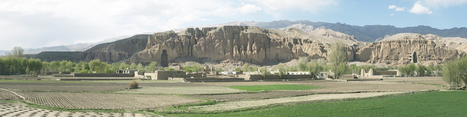 General view of Bamiyan, April 2011