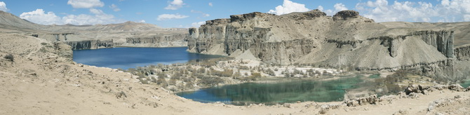 Band-e-Amir, April 2011