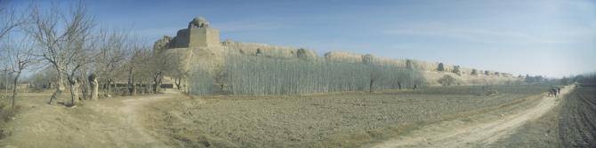 City wall of Balkh, February 2011