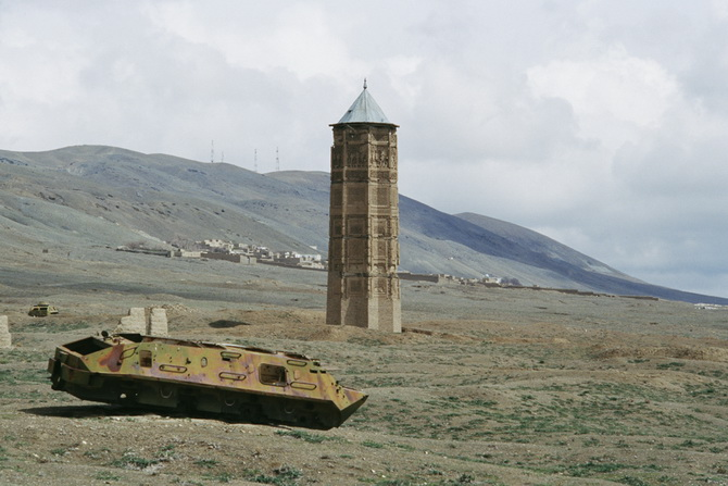 Russian and Afghan Cultural Heritage at Ghazni, April 2011