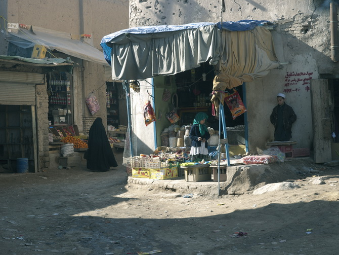 In the Old City of Herat, January 2011