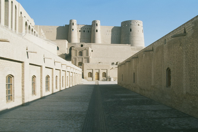 In the Fort (Bala Hissar) of Herat, January 2011