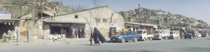 Centre of Kabul, February 2011