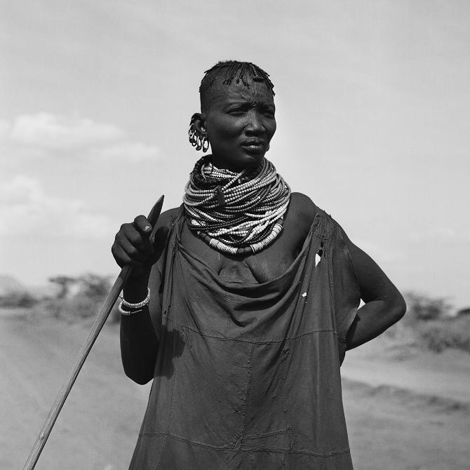 A Turkana lady, 1971