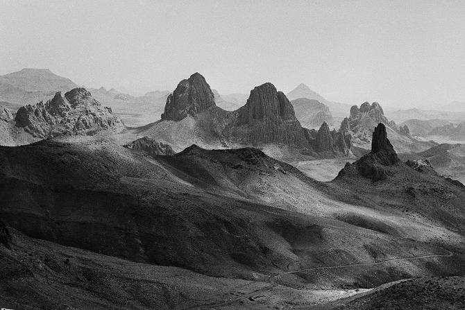Hoggar Mountains, 1971
