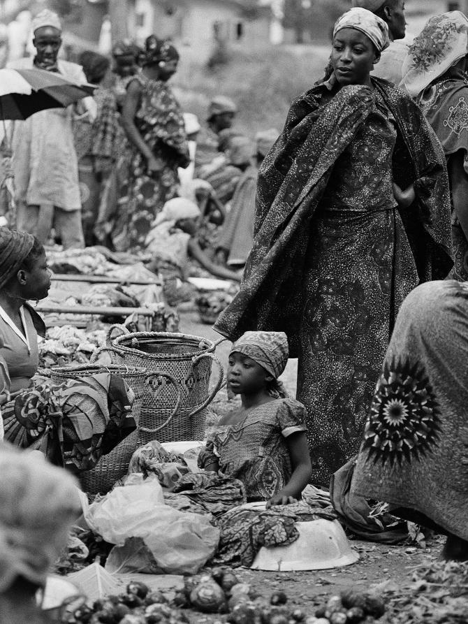 Market in West Cameroon, 1971