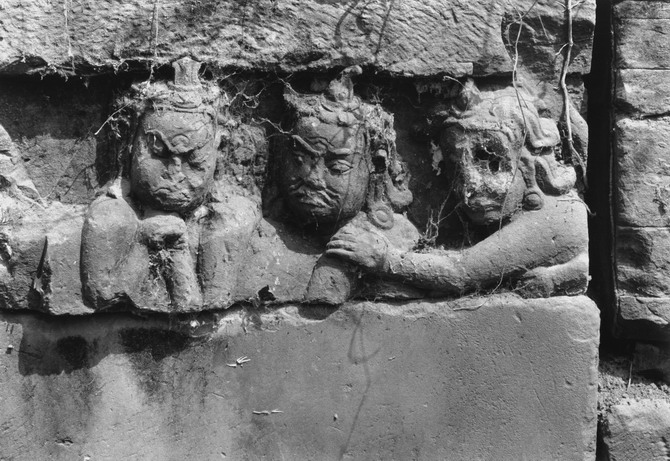 Angkor Thom, Terrace of Leper King (1993)