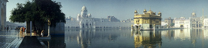 Golden Temple in Amritsar (1990)