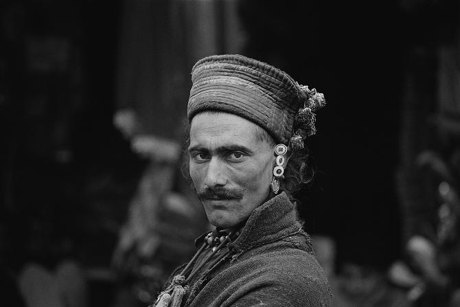 A man from Dah Hanu in the bazaar of Leh (1976)