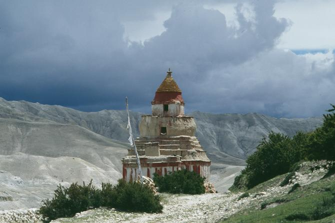 Chorten at Chossyar, 1997