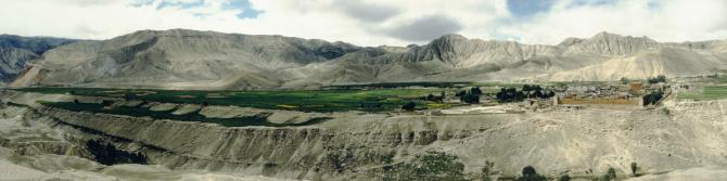 Panorama of Lomonthang (1996)