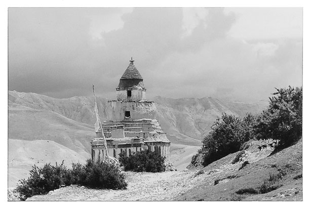 Chorten at Chossyar (1996)
