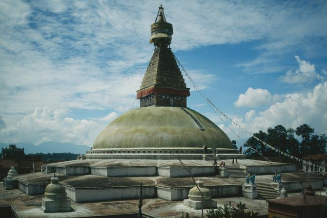Great Stupa at Bodhnath, 1983