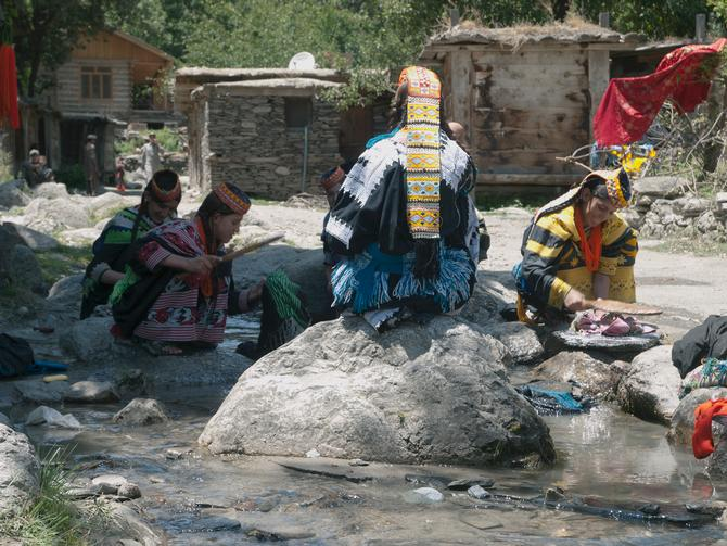 Kalash ladies, 2011