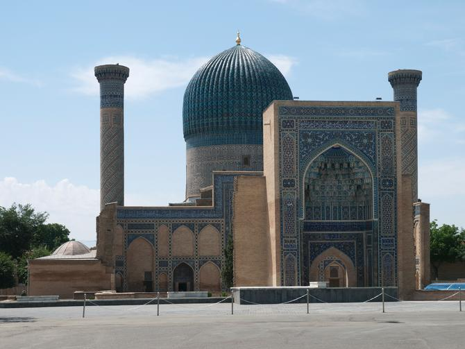 The Tomb of Tamerlan, Samarkand, June 2011