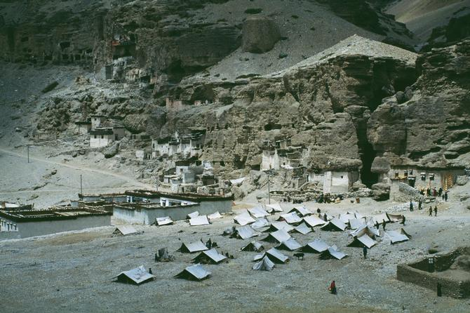 Salt Market in Purang, 1987