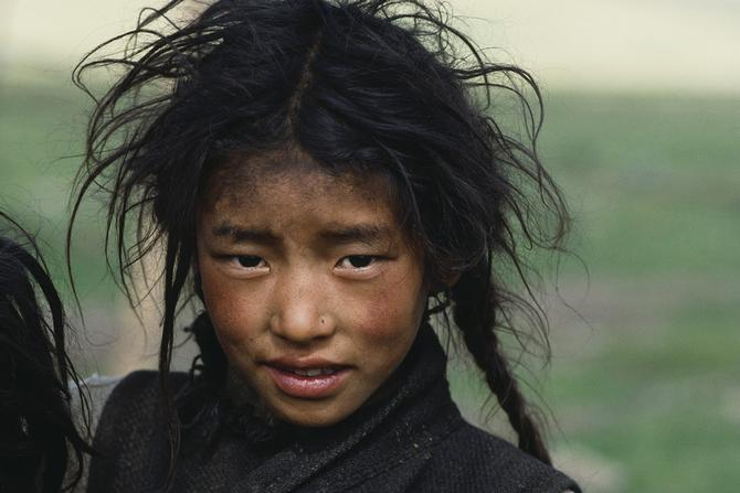 A nomad girl, 1986