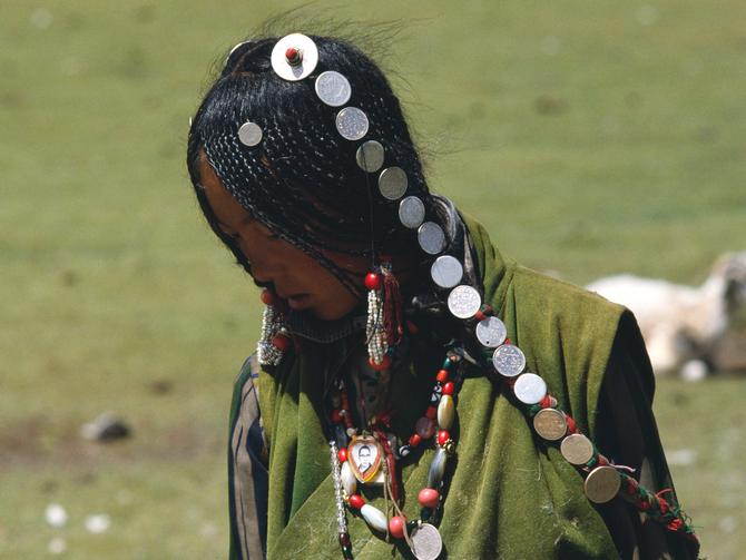 A nomad girl, 1987