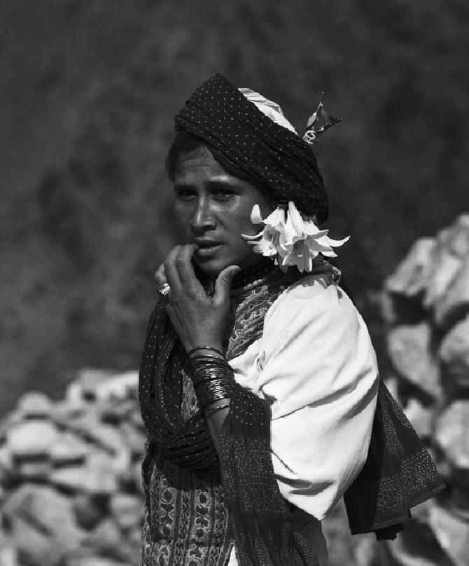 A Young Lady from Jebbel Sabir, Taiz, North Yemen (1972)